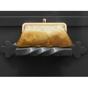 Porte-monnaie lamé doré (lot de 2 pièces)