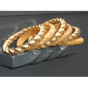Lot de bracelets jonc rigide (6 pièces)